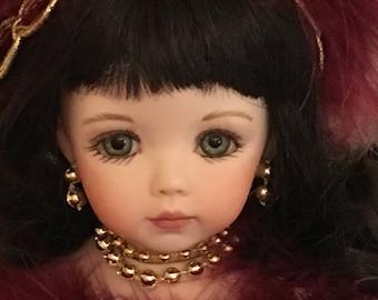 Victorian Porcelain Doll Ornaments