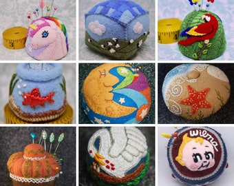 I'll Make your dream pincushion! Or a personalized one for someone! GREAT GIFT!