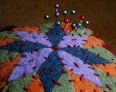 Made to order - Quilter's Square Extra Large Pincushion  free usa ship