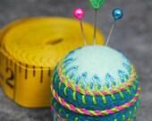 Made to order - Sideshow small Bottlecap Pincushion