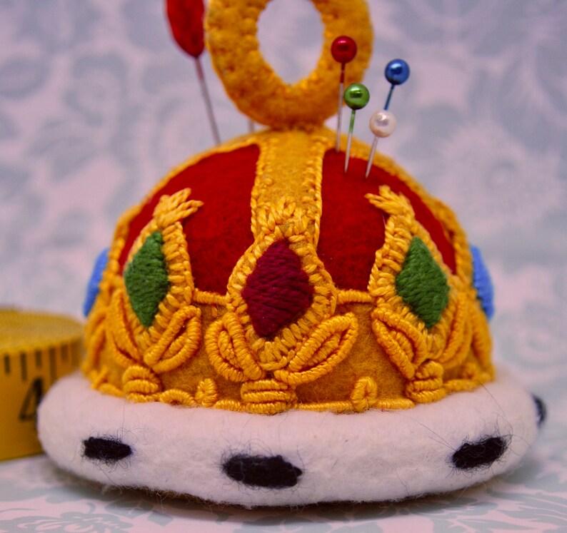 Made to Order free us ship  Large Bottlecap Royal Crown image 1