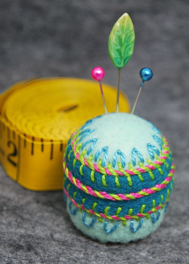 Made to order  Sideshow small Bottlecap Pincushion image 0