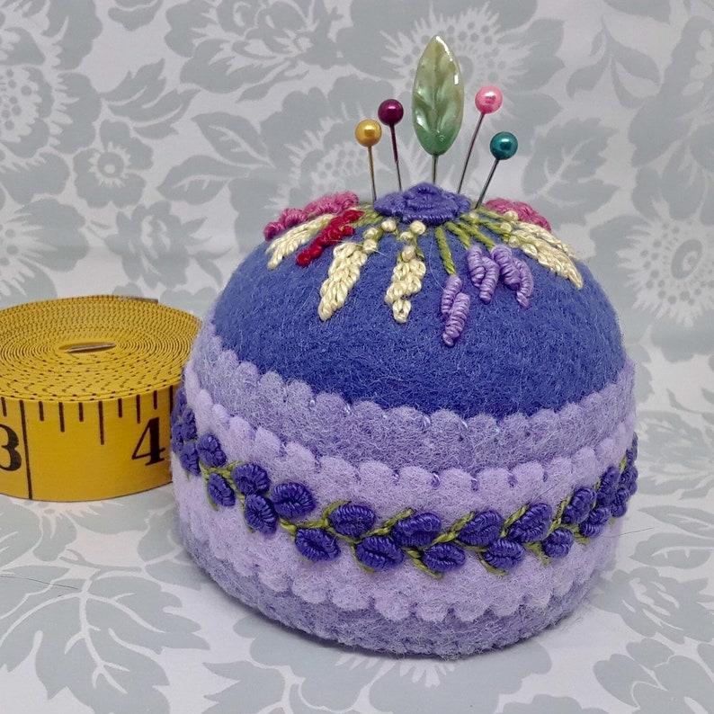 Made to Order  Blue-violet shades floral Large Bottlecap image 0
