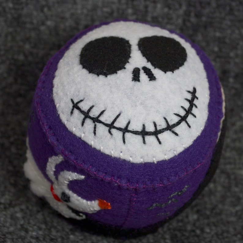 Made to order  NightMare Before Christmas Pincushion  free image 0