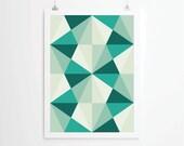 Poster, Mid Century Art print, retro Print Poster, Geometric Art Print, Geometric poster, Abstract Art Print, Abstract Posters