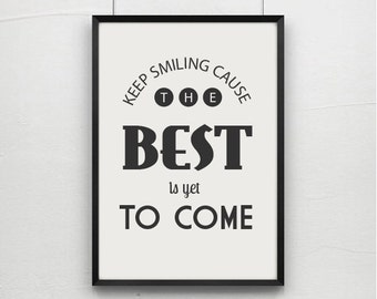 inspirational quotes quote prints quote posters happy art etsy