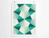 Poster, Mid Century Art print, retro Print Poster, Geometric Art Print, Geometric poster, Abstract Art Print, Abstract Posters