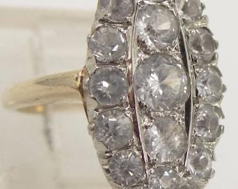 14k Gold 1920's Spinel Ring