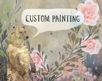 RESERVED . Custom painting .  deposit for Shonna .