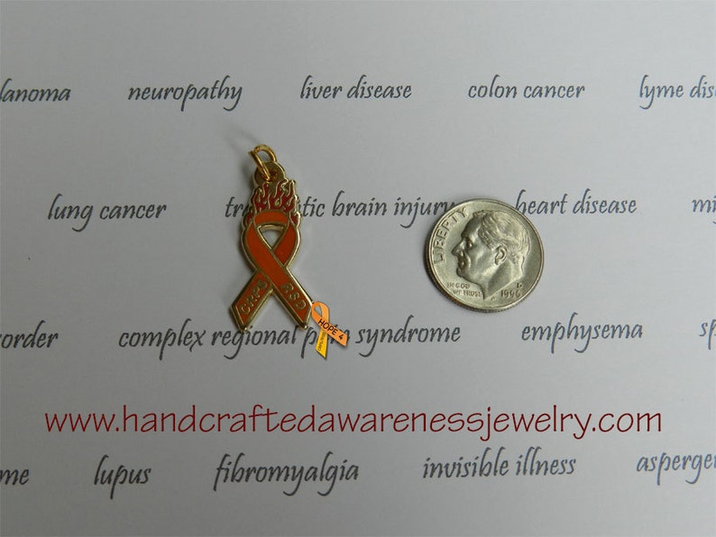 Orange Ribbon Awareness CRPS CRPS Awareness RSD Awareness image 0