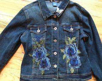 """Children""""s-Girls Denim Jean Jacket L14"""