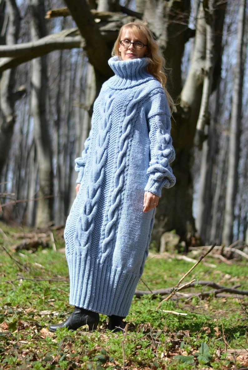 PRONTO lana fatti a mano vestito lavorato a mano lana maglione  472ae46126c