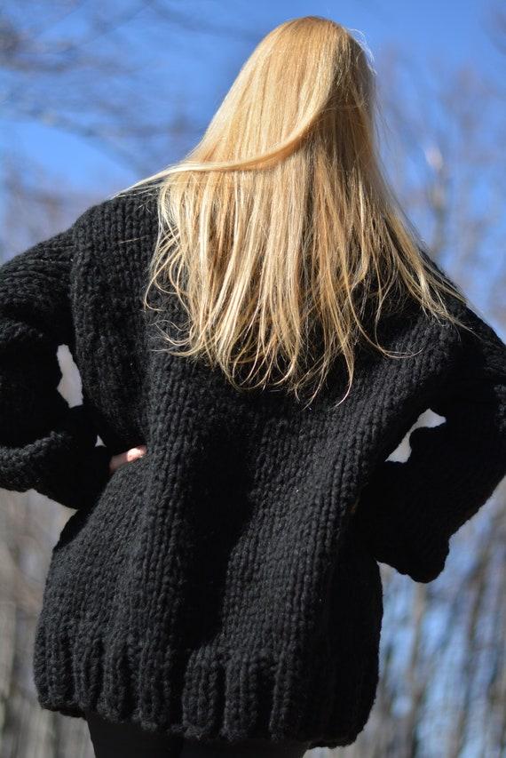 PRONTO a mano cardigan maglia di lana cappotto cardigan  a76a848e56f