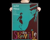 Train to Skaville Framed matte paper poster