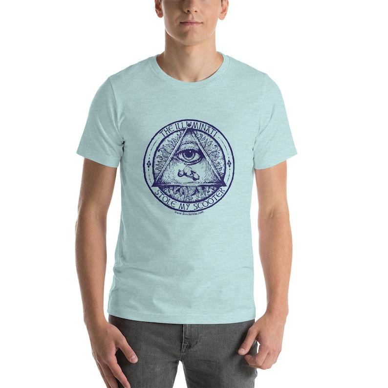 Illuminati Short-Sleeve Unisex T-Shirt image 0