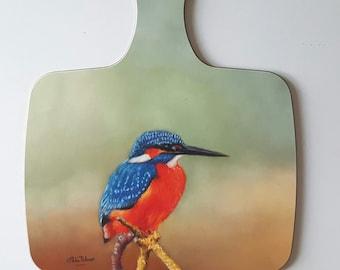 Kingfisher - chopping board
