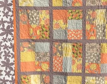 Handmade Quilt, throw