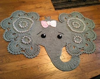 Crochet Elephant - custom made upon ordering