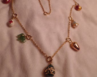 Joan Rivers Charm Necklace