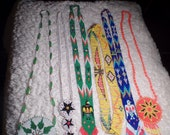 Estate Sale Purchase-Native American Beaded Necklaces Lot