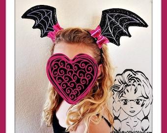Bat wings headband | Etsy