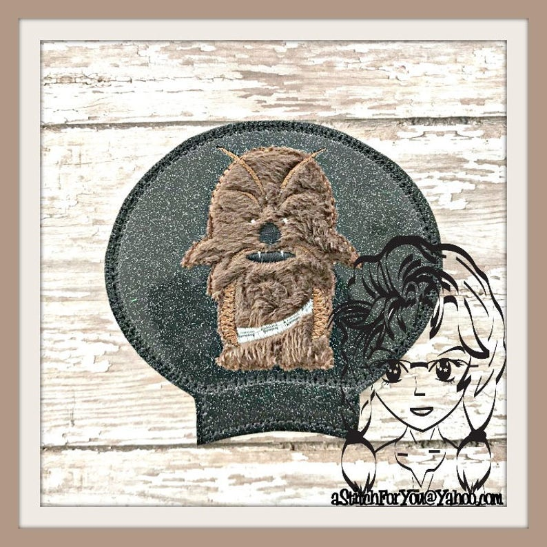 SW CHeWIE Ear (Add On ~ 1 Pc) Mr Miss Mouse Ears Headband ~ In the Hoop ~  Downloadable DiGiTaL Machine Embroidery Design by Carrie