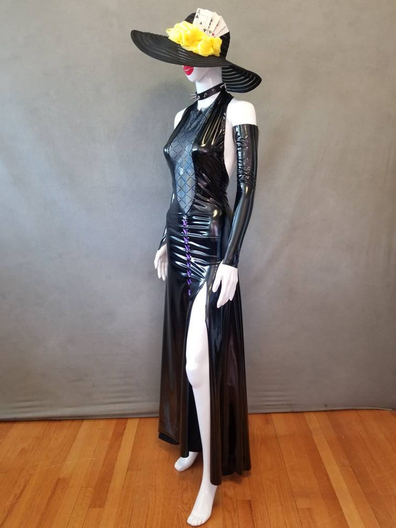 MADE TO ORDER Sae Niijima Shadow inspired Dress /& Spike Collar Only