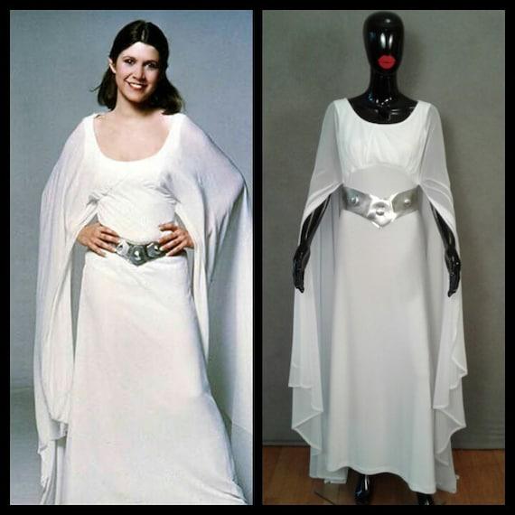 MADE TO ORDER Princess Leia Inspired Ceremonial Dress Star