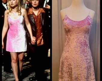 MADE TO ORDER Pink Velvet Dress inspired by My Date with The Presidents Daughter Movie