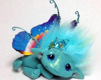 "OOAK Dream Butterfly Faerie Trollfling Troll Dragon ""Callie"" by Amber Matthies"