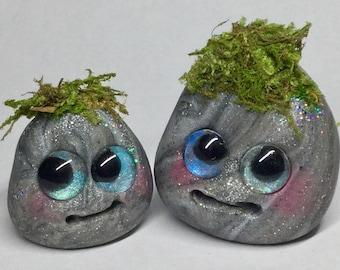 "Troll stone buddies by Amber Matthies ""Lou and Greu"""