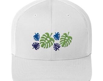 Palm Leaf Trucker Cap ce6fef0b7ea3