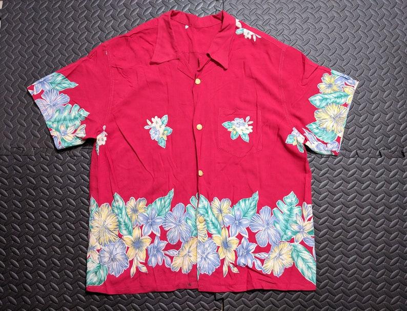 a133496f Men's Vintage Hawaiian Shirt. Aloha 1950's Mid   Etsy