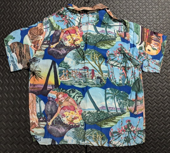 Vintage Hawaiian Shirt. Aloha 1930's to 40's Mid C