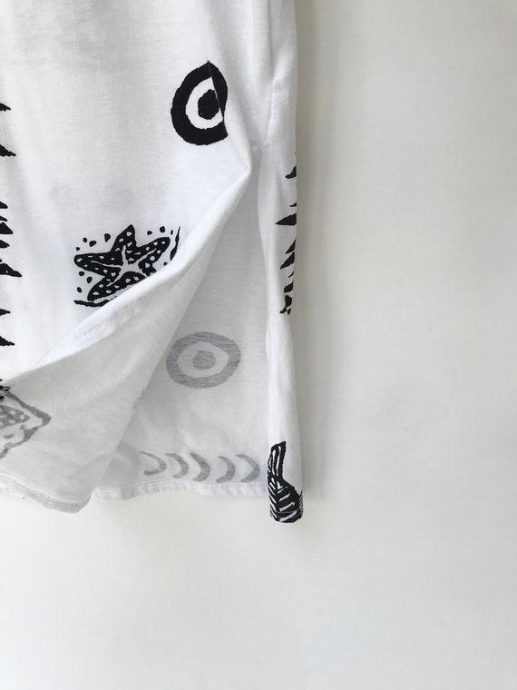 90s White Maxi Dress // Cotton Minimalist dress//… - image 7