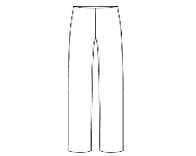 Basic Men's Trouser Block Pattern - Sizes 28-42