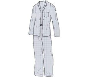 Men's Pyjamas Sewing Pattern -Sizes 34-48 - Download PDF