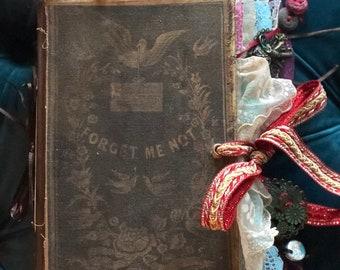 Boho Gypsy Junk Journal / Diary Shabby Handmade