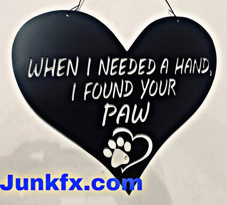 When I needed a hand I found your paw. image 0