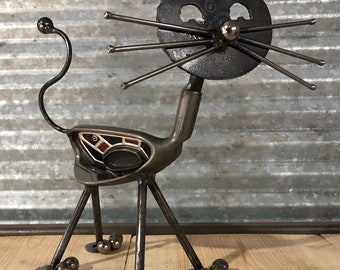 Recycled Golf Club Cat FREE SHIPPING