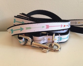 1/2 inch Colorful Arrow Leash and Collar Set