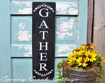 Rustic, Modern Rustic, Porch Decor, Home & Living, Farmhouse Decor, Handpainted, Wood Signs, Rustic Signs, Porch Decor, Cottage Style Decor