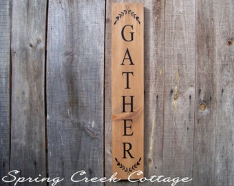 Rustic Wood Signs,  Home & Living, Home Decor, Handpainted, Wood Signs, Rustic, Country, Thanksgiving, Farm, Cottage, Made To Order!