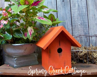 Nest Boxes, Bird Houses, Handmade, Home Decor, Garden Accents, Housewarming Gifts, Personalized, Birds, Mothers Day Gift, Cedar, Handcrafted