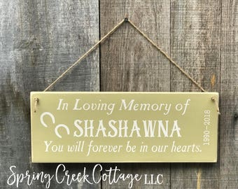 Signs, Pet Loss Gift, Personalized, Memorial Signs, Stall Signs, Horse Sign, Pet Memorial, Rustic, Handpainted, Horses, Equestrian, Handmade