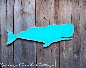 Wood Cutouts, Whale, Sea Side Decor, Handcrafted, Wood Signs, Home Decor, Coastal Living, Bathroom Decor, Whale Silhouette