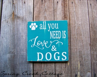 Signs, Dog Signs, Handpainted, Wood Signs, Home Decor, Typography, Christmas Gifts, Dog Signs, Pets, Gifts Dog Lovers