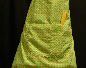 Large Adult Apron  light green (#105  #105B)
