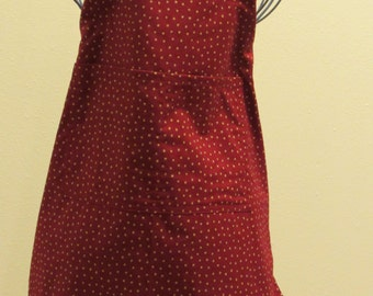 Child's 2/3 or 3/4 Apron   Stars (# 395 ) Free shipping