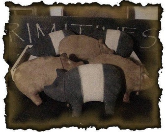 ePattern~This Lil Piggy Bowl Fillers, Tucks